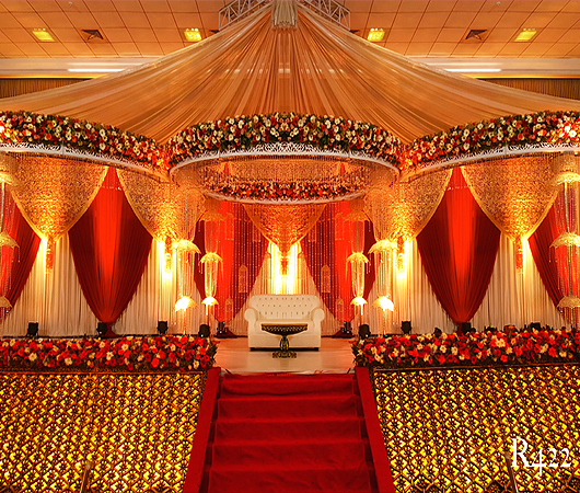 Abm Decorators Alleppey Kerala Wedding Stage Decoration Arches